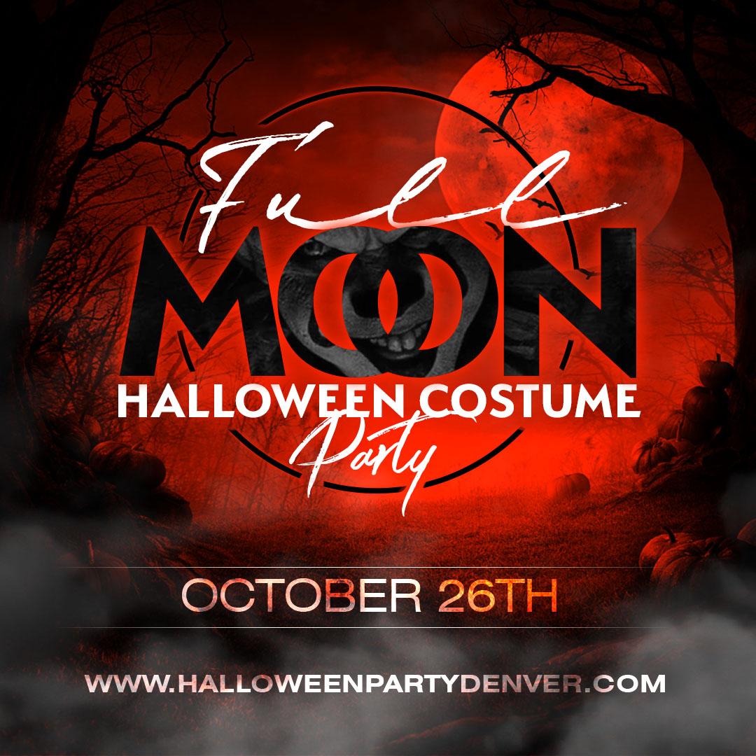 Denver Halloween Costume Party
