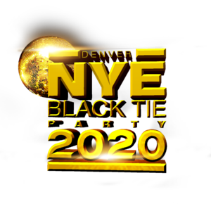 New Years Eve Black Tie 2020 Logo