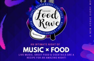 Denver Food Rave Flyer